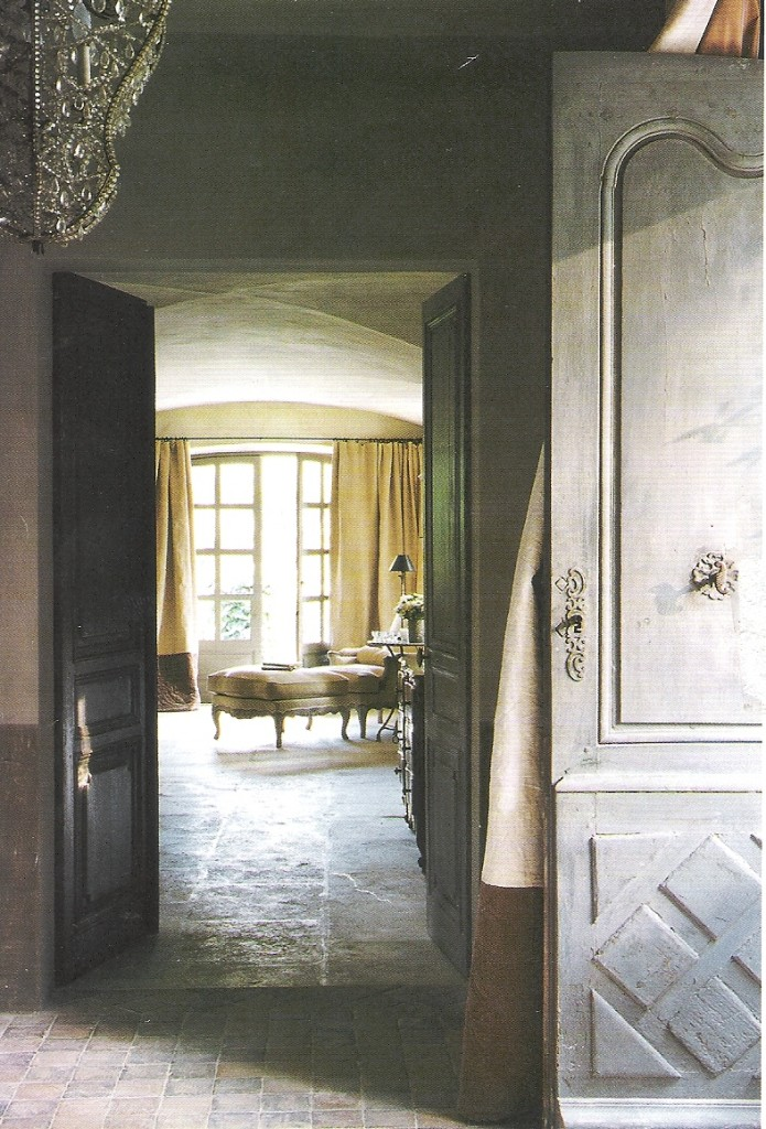 image via Cote Sud Magazine - as seen in Origin of a Name by L for linenlavenderlife.com